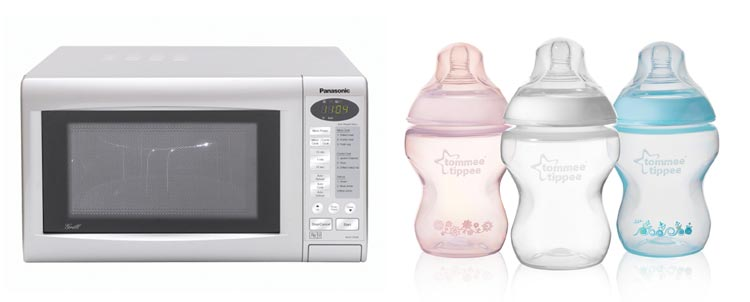 microwave-and-bottles